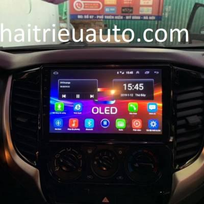 màn hình android theo xe triton 2019