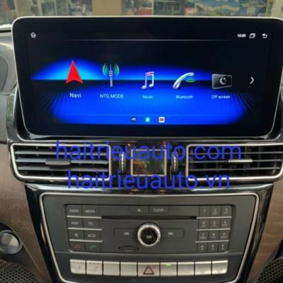 màn hình android theo xe mercedes GLS