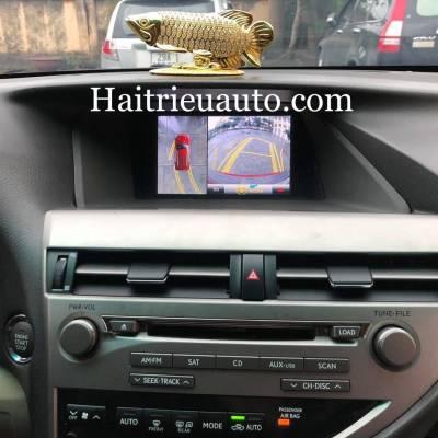 Camera 360 cho xe Lexus RX350 2010