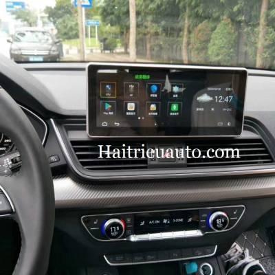 màn hình android heo xe audi Q5 2017-20120