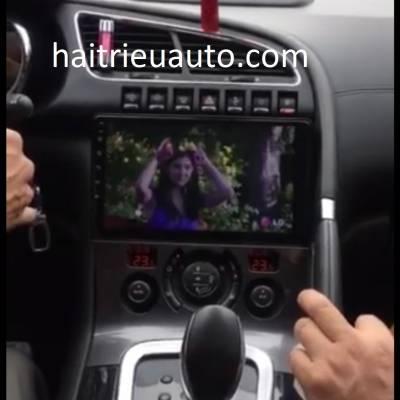 màn hình android theo xe Peugeot 3008