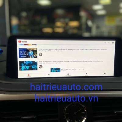 tích hợp android theo xe lexus RX 2021
