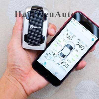 Cảm biến áp suất lốp hiện thị trên điện thoại
