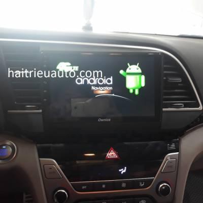 màn hình android ownice theo xe elantra 2018