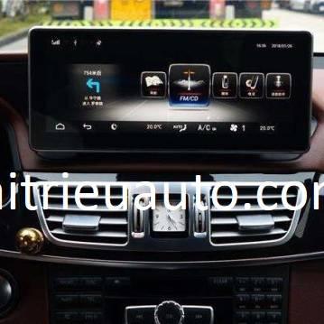 Màn hình android theo xe Mercedes Benz E400