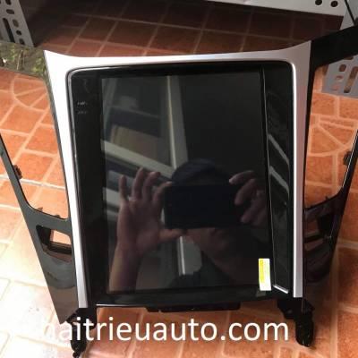 màn hình android tesla theo xe sonata