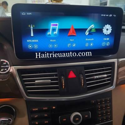 Màn hình android cho xe Mercedes E250 2013