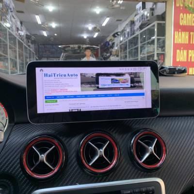 màn hình android xe mercedes CLA