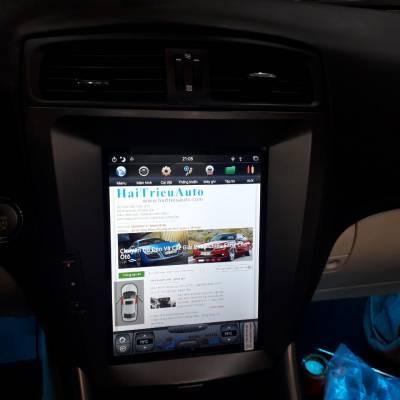 màn hình android tesla xe lexus is 250