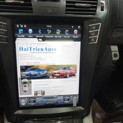 màn hình android tesla xe lexus lS 460