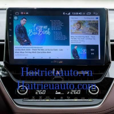 Màn hình android theo xe Corolla cross