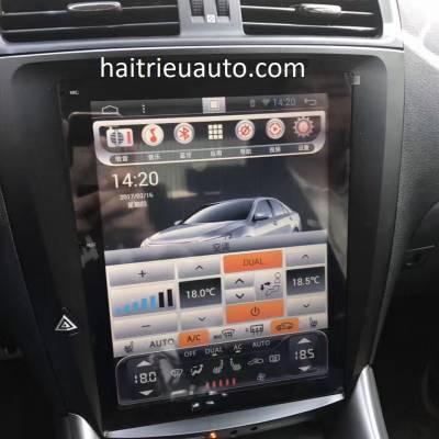 Màn hình tesla android theo xe Lexus IS 250