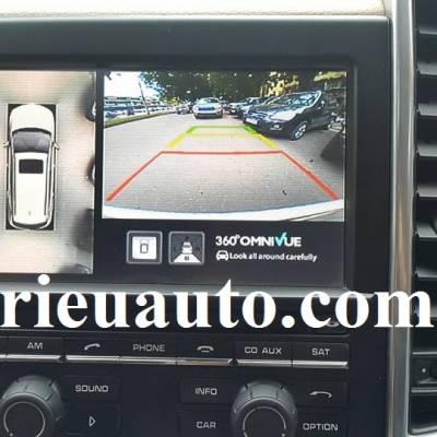 lắp Camera 360° Omnivue cho Porsche Cayenne 2011