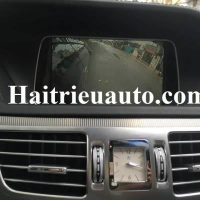 Lắp camera cập lề cho Mercedes E200 2015