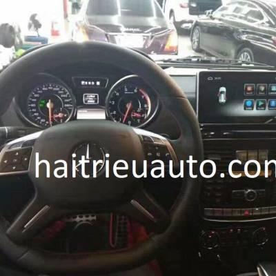 màn hình android theo xe mercedes G
