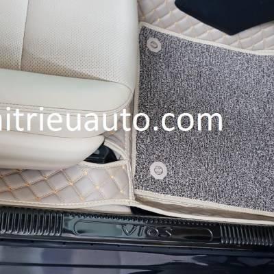 nẹp chống trầy phần nhựa xe  toyota vios 2018