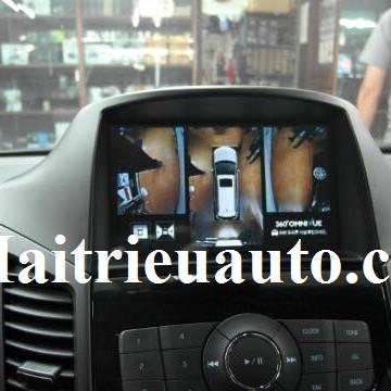 lắp Camera 360 Omnivue cho Chevrolet Orlando
