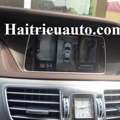 Lắp Camera 360 cho Mercedes Benz E200