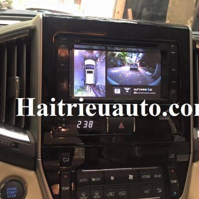 lắp camera 360 Omnivue cho Toyota Landcruiser