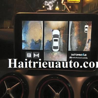 lắp camera 360 cho xe Mercedes Benz CLA 45 AMG 2016