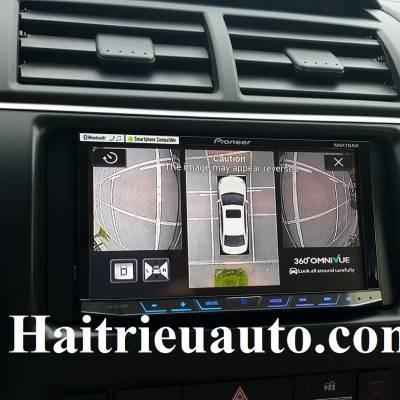 lắp camera 360° Omnivue cho Toyota Camry 2016