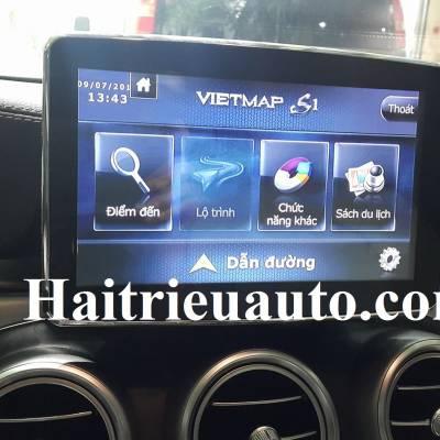 lắp vietmap cho Mercedes Benz GLC 300