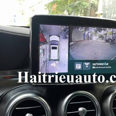 Lắp Camera 360 cho Mercedes GLC 300