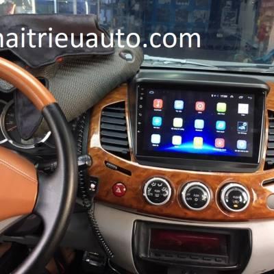 màn hình android theo xe triton