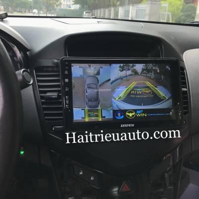 lắp camera 360 cho xe Chevrolet Cruze