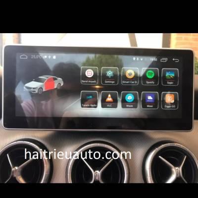 màn hình android heo xe mercedes GLA