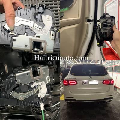 Cửa hít cho xe Mercedes GLC 300 2020