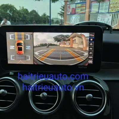 camera 360 theo xe mercedes GLC 2021