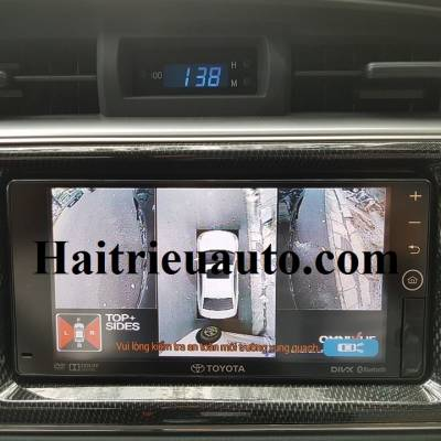 Camera 360 độ Omnivue cho Toyota Altis