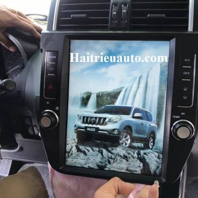 đầu dvd android theo xe toyota land cruiser prado