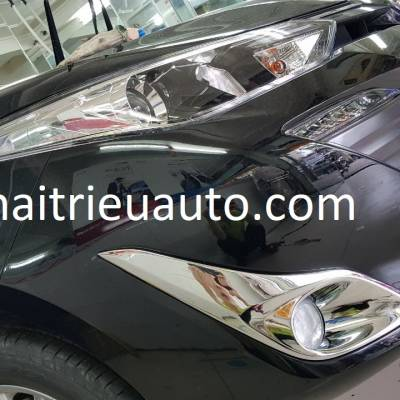 viền đèn gầm cho xe toyota vios 2018