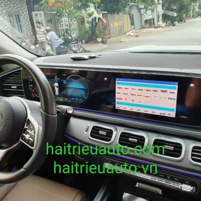bộ kết nối android theo xe mercedes GLS