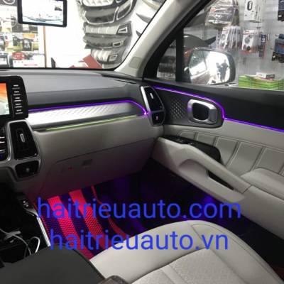 led nội thất theo xe kia Sorento 2021