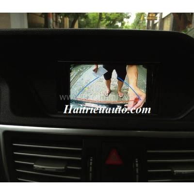 Lắp camera 360 độ cho xe Mercedes E200, E250