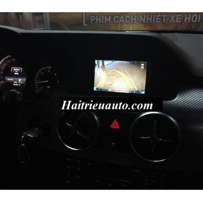 Lắp camera 360 độ cho xe Mercedes GLK