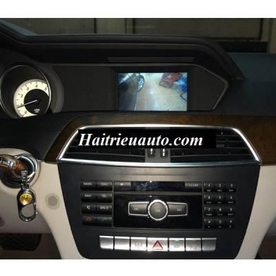 Lắp camera 360 cho Mercedes C200