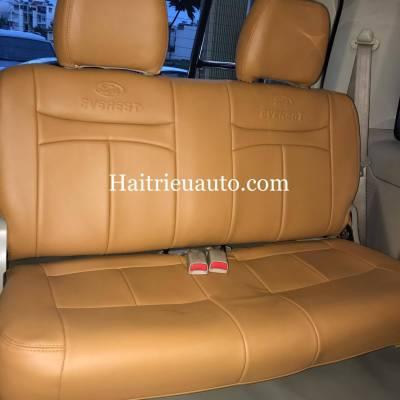 Bọc ghế da cho xe Ford Everest