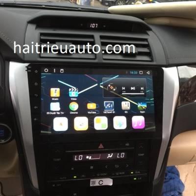 màn hình android cho xe camry 2018