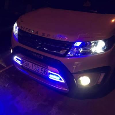 độ đèn cho xe suzuki vitara