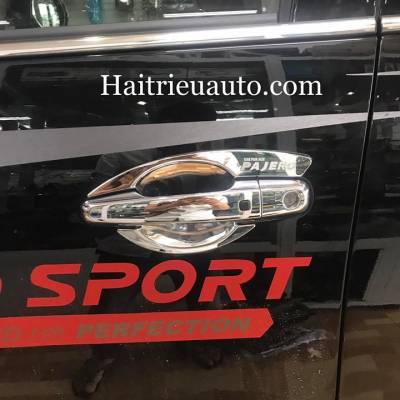 chém cửa Mitshubishi Pajero Sport