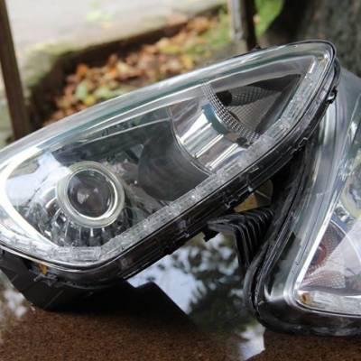 độ đèn cho xe huyndai I10