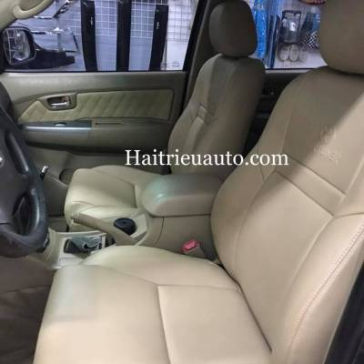 Bọc ghế da cho xe fortuner