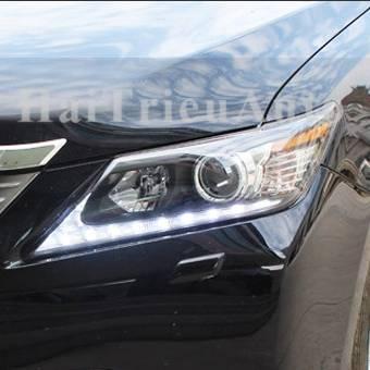 Đèn pha độ cho xe camry 2014