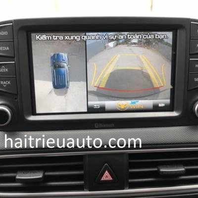 lắp camera 360 cho xe huyndai kona