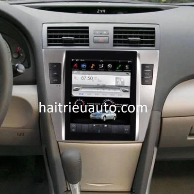 màn hình Tesla theo xe camry 2010