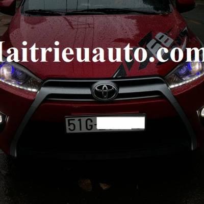 độ đèn led cho xe Toyota Yaris